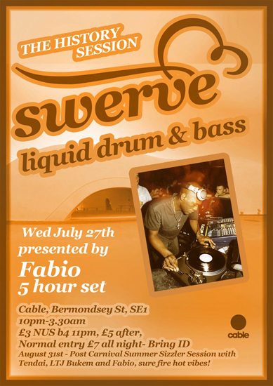 swerve1 Swerve tonight: Fabio 5 hours