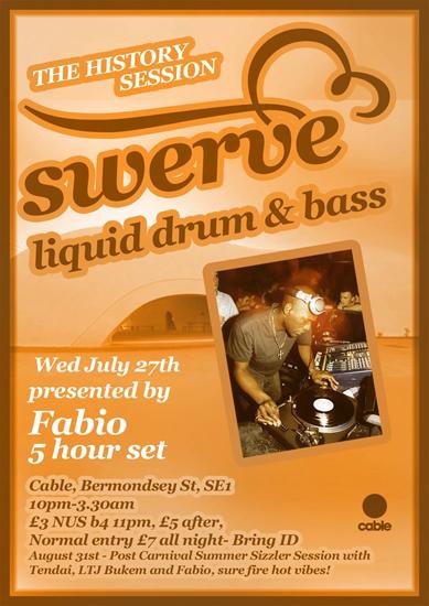 swerve1 Swerve tonight: Fabio 5 hours