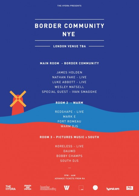 The Hydra: NYE + NYD   Shed, Henrik Schwarz, Levon Vincent, Ivan Smagghe, Redshape, Nathan Fake, Dusky and more