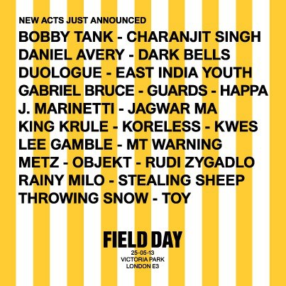 522762 10151534188780820 802692832 n New Field Day 2013 Playlist