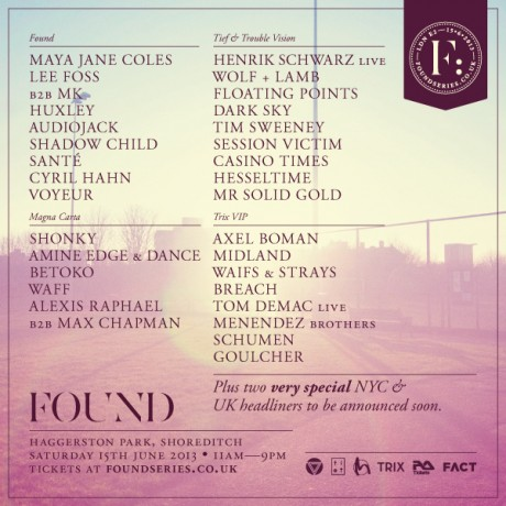 Found Festival 2013 at Haggerston Park