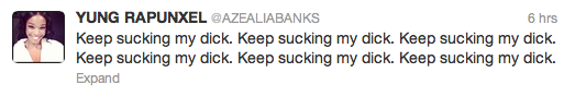 Screen Shot 2013 03 11 at 15.32.22 Top 10 Best Azealia Banks Moments