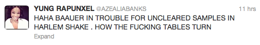 Screen Shot 2013 03 11 at 15.32.41 Top 10 Best Azealia Banks Moments