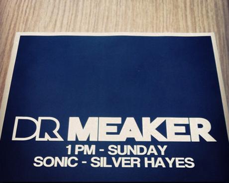 Drmeaker Insta 460x368 Dr Meaker interview June 2013