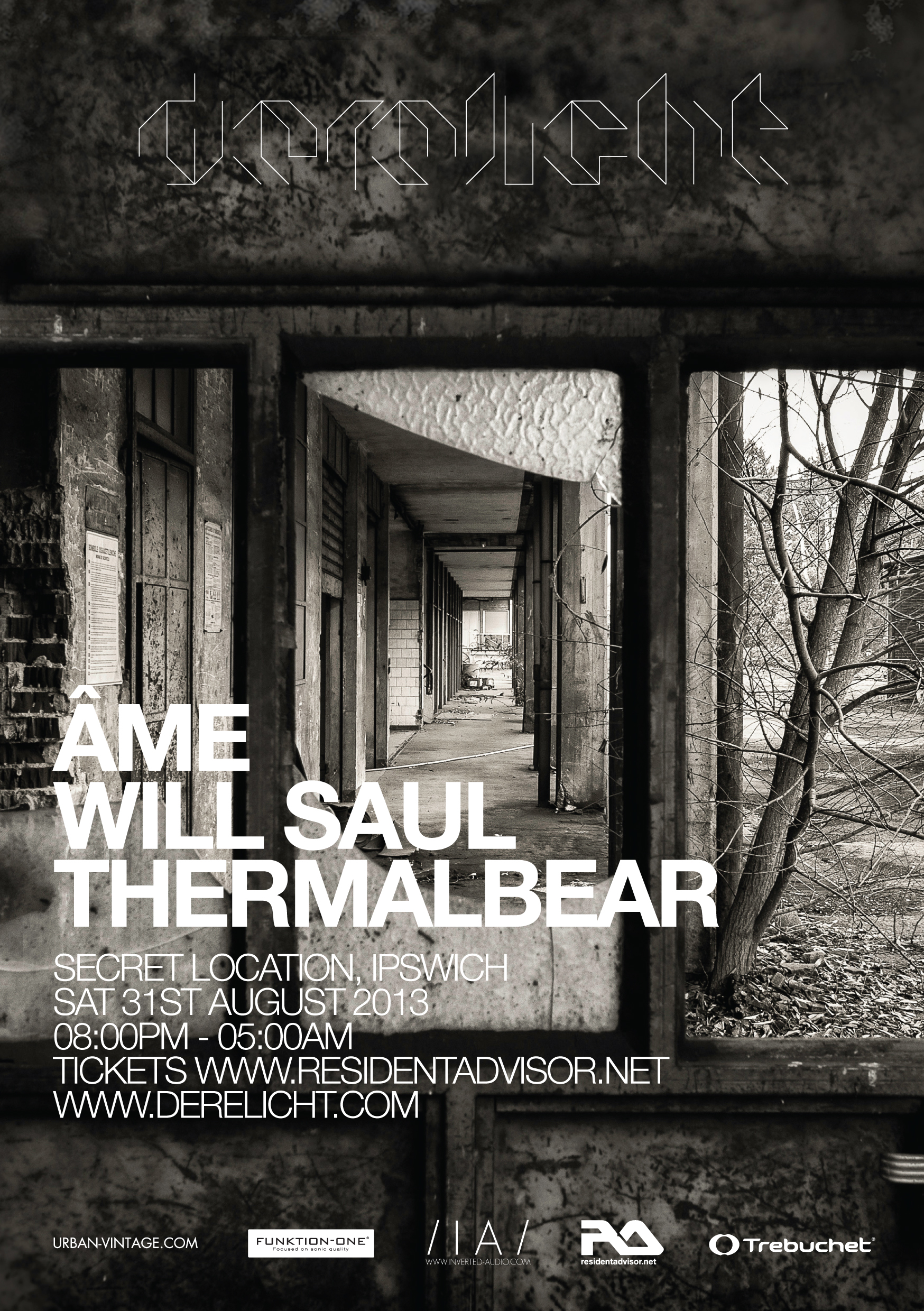 D03front Derelicht   31st August ft Ame, Will Saul & ThermalBear