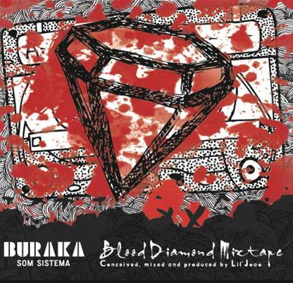 burak mixtape sleeve Buraka Som Sistema   Blood Diamond Mixtape