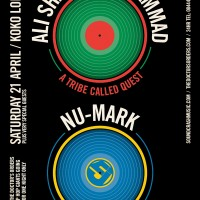 Ali Shaheed Muhammad (A Tribe Called Quest) & Nu-Mark (Jurassic 5), 21st April at Koko, London