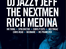 Win a SERATO VINYL SET + 2 Tickets for: DJ Jazzy Jeff, The Nextmen & Rich Medina