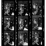 The Slits bathroom sessioncontact sheet