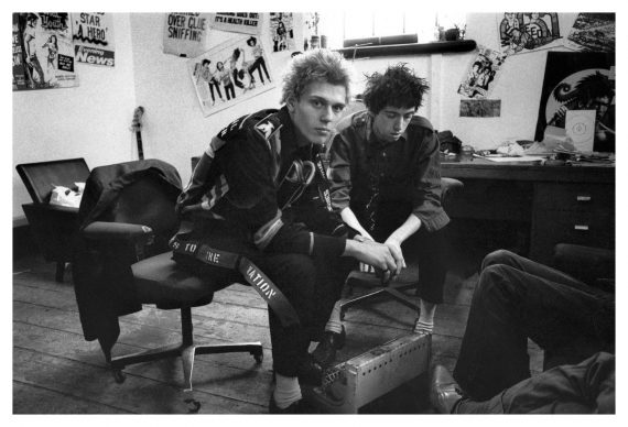 The Clash at Rehearsal Rehearsals Camden London 1977